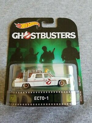 2017 Hot Wheels Ghostbusters ECTO-1 White EXCELLENT CARD • 0.72£