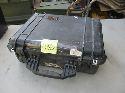 $59 • Buy Used Military Pelican Storage Or Shipping Case, 20x15x8  OD, Perfect For Drone