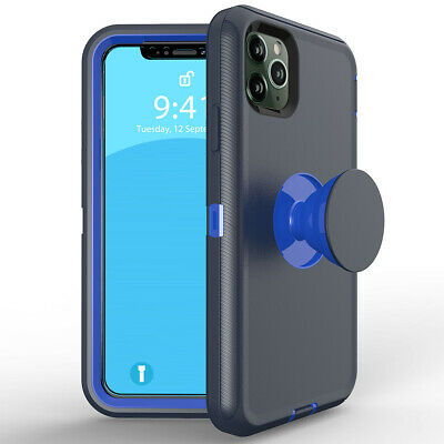 AU9.62 • Buy For IPhone 12 11 Pro Max XR XS 8 7 6 Plus SE Shockproof Case With Socket Stand