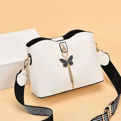$ CDN50.42 • Buy Women Strap Leather Handbags Fashion Designer Ladies Crossbody Handbags Female