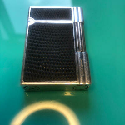 AU533.98 • Buy S.T.Dupont Gatsby Lighter Leather Surface Model Silver