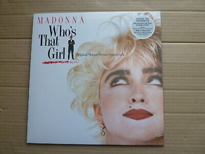 £34.99 • Buy Madonna - Who's That Girl - 180-gram Crystal Clear Vinyl - New & Sealed
