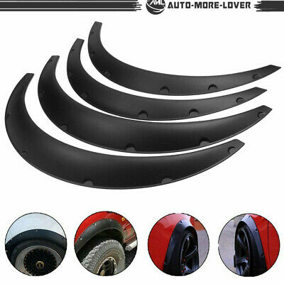 $26.78 • Buy 840MM Universal Fender Flares Car Wide Body Wheel Arches Flexible Durable 4Pcs