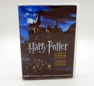 $ CDN38.05 • Buy Harry Potter Complete 8 Film Collection DVD 2011 8 Disc Set