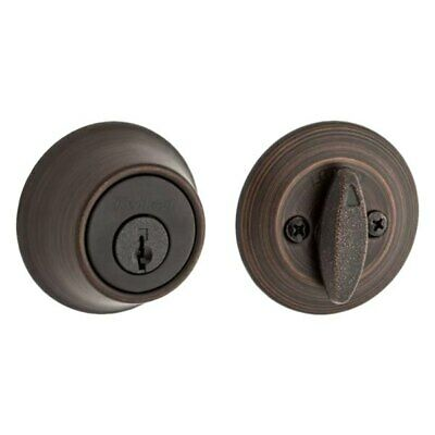 $ CDN19.35 • Buy Kwikset Single Cylinder Deadbolt Venetian Bronze 96600 673 New