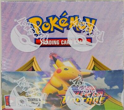 $158.88 • Buy Pokemon TCG Sword And Shield Vivid Voltage Factory Sealed 36 Booster Pack Box
