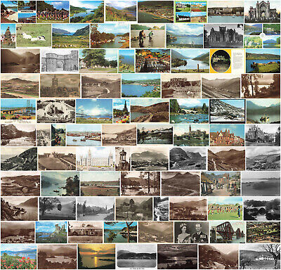 £3.49 • Buy Scottish / Scotland Vintage Postcards - All Different - 200+ Cards Sold Singly.