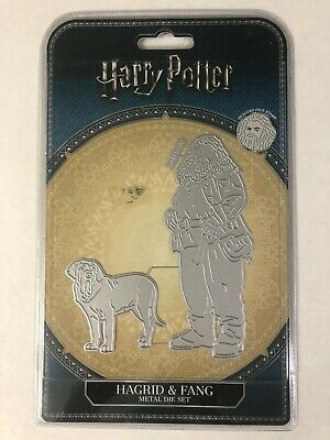 $ CDN5 • Buy Harry Potter Metal Die Set - Hagrid And Fang - For Crafts 2 Dies + 1 Face Stamp