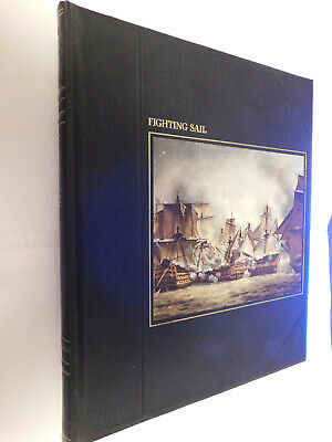 Time Life Books The Seafarers: Fighting Sail HB 1979 Ocean Ships History • 4.95£