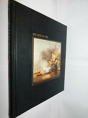 Time Life Books The Seafarers: Men-Of-War HB 1979 Naval Ocean Sea Boats History • 4.95£