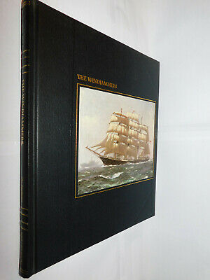 Time Life Books The Seafarers: Windjammers HB 1980 Naval Ocean Sea Boats History • 4.95£