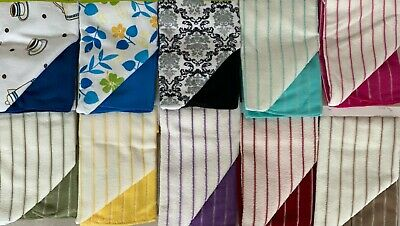 £5 • Buy 2,4 Or 6 Pack Tea Towels Microfibre Kitchen Cloths Dish Drying Cleaning Towels