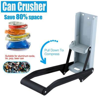 £7.03 • Buy Heavy Duty Beer Tin Can Crusher 500ml Wall Mounted Recycling Tool&Bottle Opener