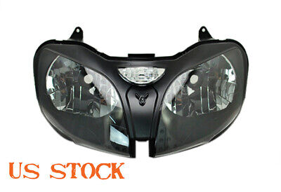 $219.95 • Buy Motorcycle Headlight Assembly Housing For Kawasaki ZX636 ZX-6R ZX9R 2000-2002