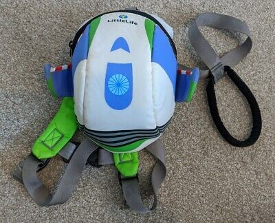 Littlelife Little Life Toy Story Buzz Lightyear Toddler Backpack Harness & Reins • 14.99£