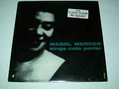 $39.99 • Buy Mabel Mercer Sings Cole Porter Us 1985 Atlantic Lp New And Sealed Very Rare