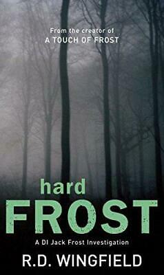 Hard Frost By R.D. Wingfield, Good Used Book (Paperback) FREE & FAST Delivery! • 3.58£