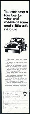 $ CDN46.94 • Buy 1972 VW Beetle Classic Car Photo European Delivery Theme Volkswagen Vintage Ad