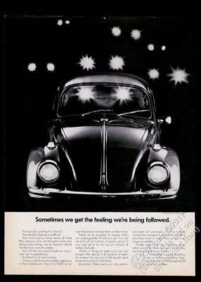 $ CDN12.67 • Buy 1970 VW Beetle Classic Car Photo We're Being Followed Volkswagen 11x8 Print Ad