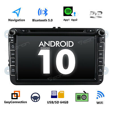 $ CDN336.19 • Buy GA9453 Android 10 8  Car Stereo GPS Radio DVD For VW Skoda Fabia Roomster Superb