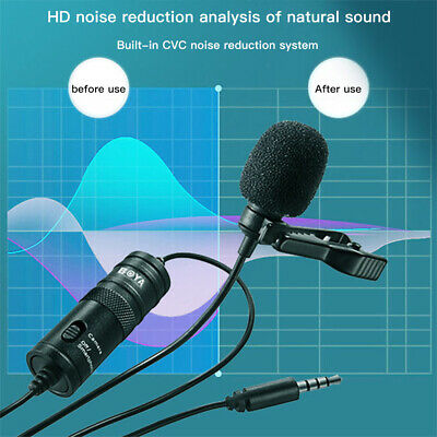 AU15.99 • Buy Boya BY-M1 Condenser Microphone For DSLRs Camcorders Live Cameras Smart Phone AU
