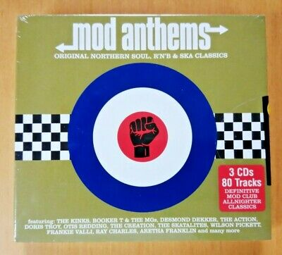 Mod Anthems: Original Northern Soul, R'n'B & Ska Classics (Various) - 3 CD Set • 4.99£