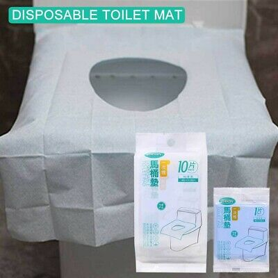 £5.51 • Buy 10PC Toilet Seat Covers Paper Travel Biodegradable Disposable Sanitary GOO