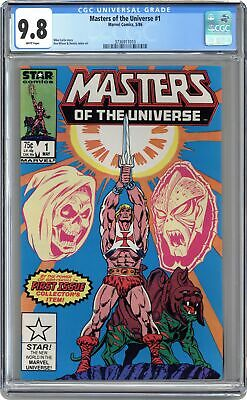 $480 • Buy Masters Of The Universe #1 CGC 9.8 1986 3736911010