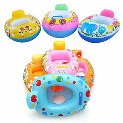 £5.59 • Buy Baby Float Swimming Ring Toddler Childs Inflatable Rubber Swim Ring Boat Seat