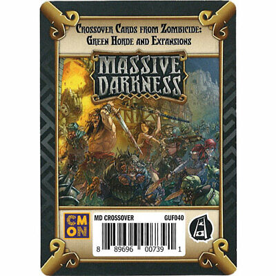AU26.66 • Buy Massive Darkness: Zombicide Green Horde Crossover Pack