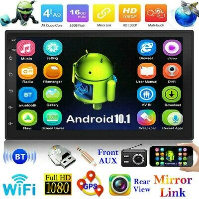 AU134.99 • Buy 7 Inch 2 DIN Car Stereo Android 10.1 MP5 Player WiFi GPS FM Radio USB Head Unit