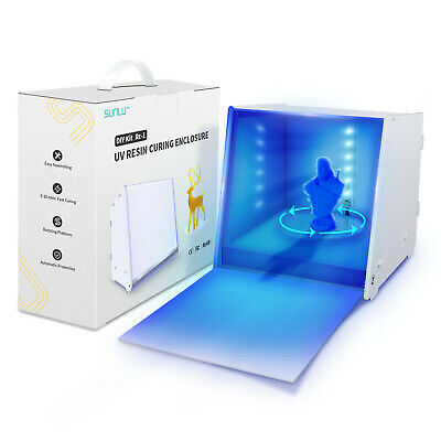 AU47.99 • Buy SUNLU UV Resin Curing Light Box For 3D Resin Printer With Driven Turntable DIY