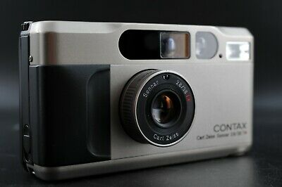 $ CDN1448.59 • Buy [Mint] CONTAX T2D T2 D Point & Shoot 35mm Film Camera W/ Data Back From Japan