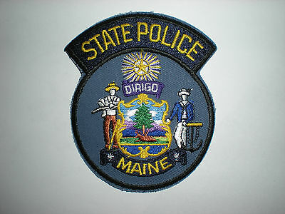 $6 • Buy Maine State Police Patch