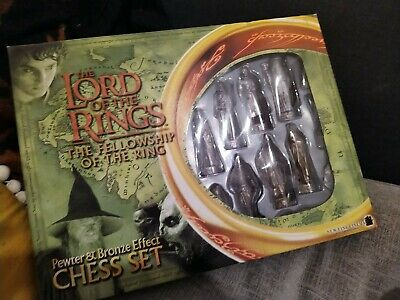 £38 • Buy The Lord Of The Rings Pewter And Bronze Effect Chess Set