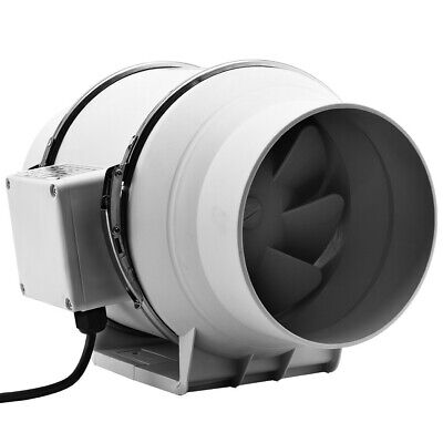 AU31.01 • Buy 4/6  Silent Extractor Exhaust Fan Duct Hydroponic Inline Industrial Vent Fan AU