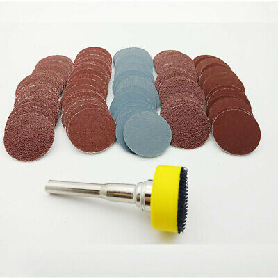 £6.68 • Buy Sanding Discs Pads 100PCS For Drill Grinder Rotary Tools + Backing Pad 1 Inch