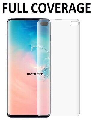 $ CDN3.78 • Buy For Samsung Galaxy S10 S20 S9 S8 Plus Tempered Glass Screen Protector Film Curve