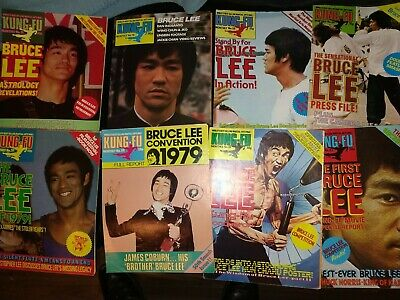 £20 • Buy Bruce Lee Kung Fu Monthly Postermags Choose Any 1 Poster  Buy Now Price