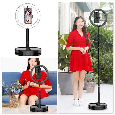 AU13.89 • Buy 10 LED Portable Folding Ring Light Dimmable Lighting Phone Selfie Makeup Lamp AU