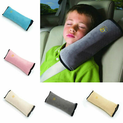 £4.26 • Buy Kids Car Safety Seat Belt Pillow Pad Cushions Shoulder Strap Head Supports Soft
