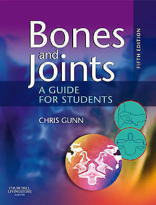 Bones And Joints: A Guide For Students By Chris Gunn, Acceptable Used Book (Pape • 19.89£