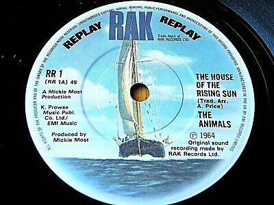 £5.49 • Buy The Animals - House Of The Rising Sun / Don't Let Me Be Misunderstood  7  (ex)
