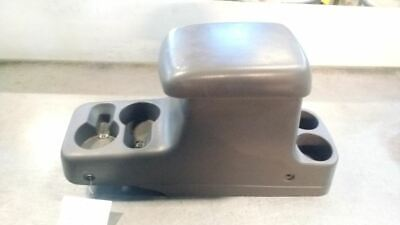 $110.83 • Buy 00-01 XTERRA Grey Center Console Armrest Pad Lid Storage Top Cup Holder 7756096
