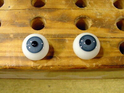 £12 • Buy A Pair Vintage Glass Eyes Size 16 Mm Age 1910 For Dolls Or Bears Lauscha A 6090