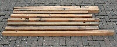 Workshop Clearance Timber  -  8 X Reclaimed Pitch Pine Beams 90 X 70mm  - Item 1 • 30£