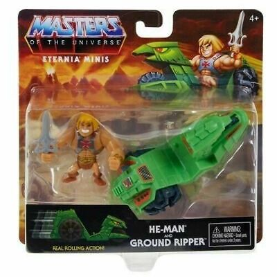 $14.95 • Buy Masters Of The Universe Eternia Minis 3  He-Man And Ground Ripper Action Figure