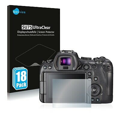 $ CDN6.55 • Buy 18x Screen Protector For Sony A7S III Plastic Film Invisible Shield Protection