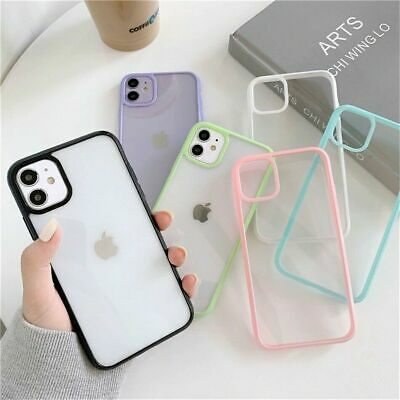 AU9.98 • Buy Case For IPhone 11 12 Pro Max Mini 7 8 SE XR X XS Clear Shockproof Phone Cover