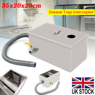 £24.98 • Buy Commercial Grease Trap Waste Fat Filter Stainless Steel Restaurant Takeaway UK